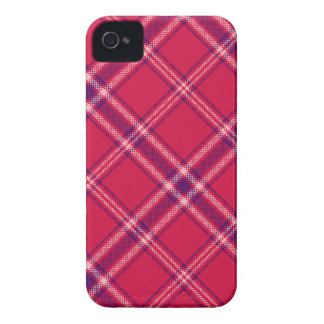Red/Purple/Pink Tartan Plaid Blackberry Case