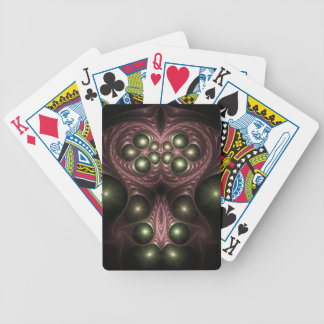 Red Queen Fractal Playing Cards
