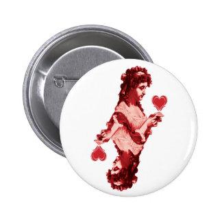 red queen heart button