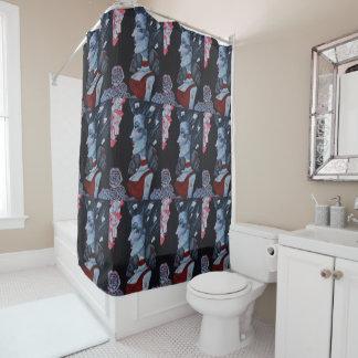 Curtains Ideas curtain wonderland : Alice In Wonderland Shower Curtains | Zazzle