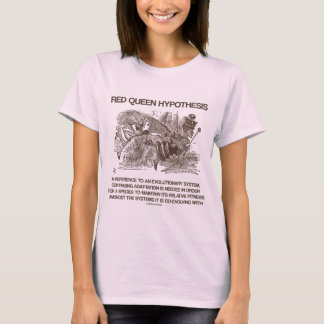 Red Queen Hypothesis (Alice Red Queen Wonderland) T-Shirt