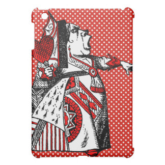 Red Queen of Hearts Alice in Wonderland  Case For The iPad Mini