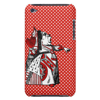 Red Queen of Hearts Alice In Wonderland Ipod Touch Barely There iPod Cases