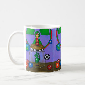 RED QUEEN OVERCOMES CRYPTOKNIGHT! COFFEE MUG
