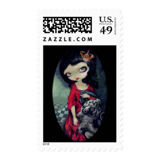 """Red Queen"" Stamp"