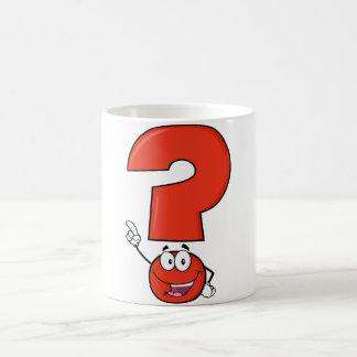 Red Question Mark Mug