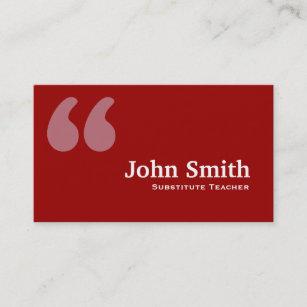 teacher quotes business cards zazzle