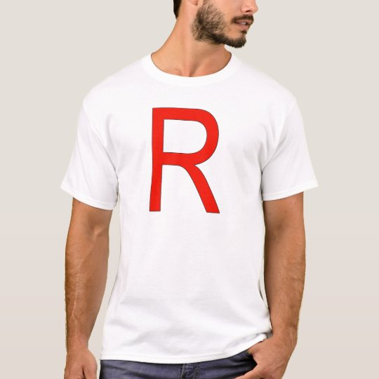 Red R for Rocket T-Shirt