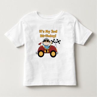Red Race Car 2nd Birthday Tshirts and Gifts