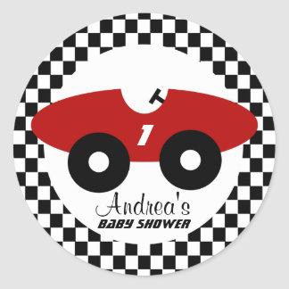 Racing Car Stickers Zazzle