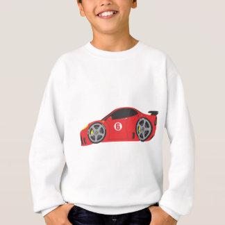 Red Race Car Sweatshirt