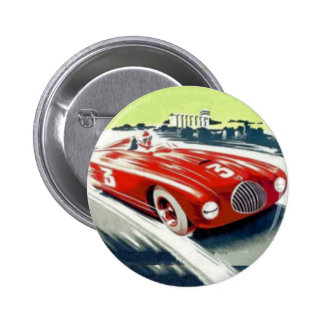 Red Racing car Button