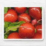 Red Radish Mouse Pad