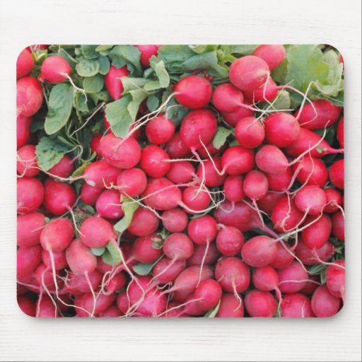 Red Radishes for Sale Mouse Pad