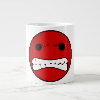 Red Rage Large Coffee Mug