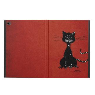 Red Ragged Evil Black Cat Powis iPad Air 2 Case
