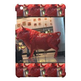 Red Raging Bull Heathrow Airport London England UK Case For The iPad Mini