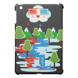 Red Rain Case For The iPad Mini