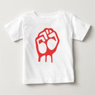 Red Raised Fist T Shirts