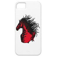 RED RANGE HORSE iPhone 5 CASE