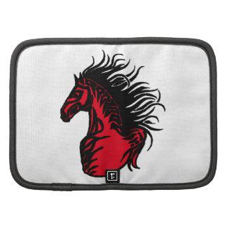RED RANGE HORSE FOLIO PLANNER