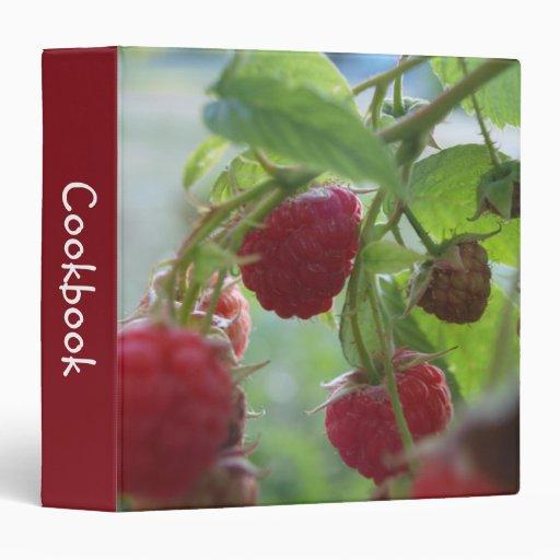 Red Raspberries Binder