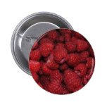 Red Raspberries Button