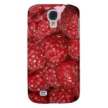Red Raspberries close up photograph Samsung Galaxy S4 Cases