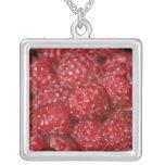 Red Raspberries close up photograph Custom Jewelry