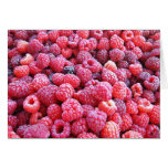 Red Raspberries ~ Fresh Produce Series Stationery Note Card
