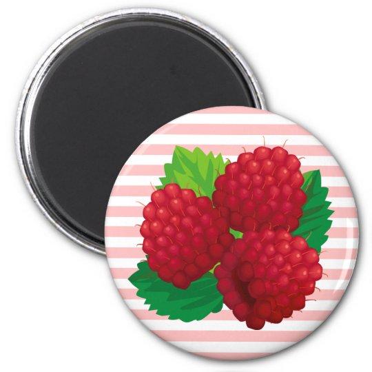 Red Raspberries Magnet