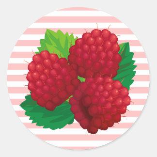Red Raspberries Sticker