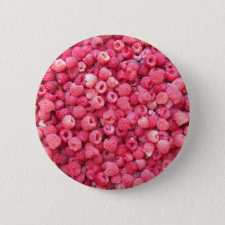 red raspberries template to customize personalize pinback button
