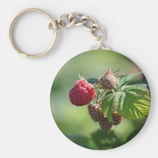 Red Raspberry Keychain