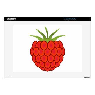 Red Raspberry Line Art Laptop Decal