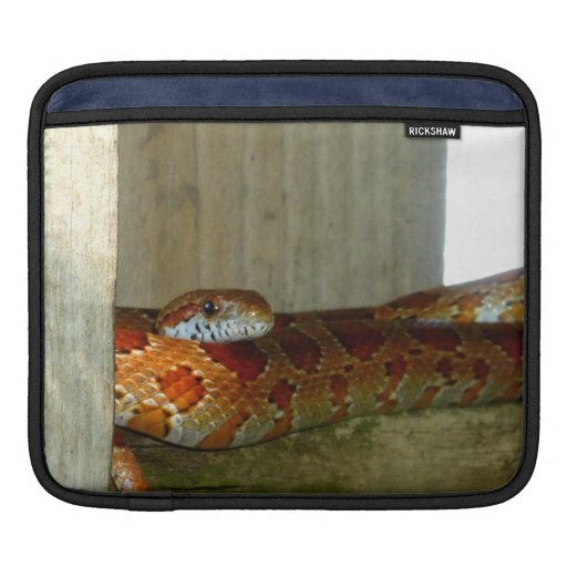 red rat snake side head sleeve for iPads