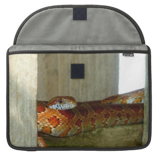 red rat snake side head sleeve for MacBook pro