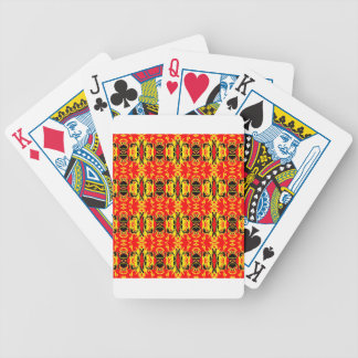 Red Rave Bicycle Playing Cards