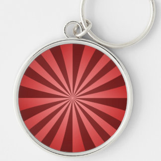 Red ray design key chains