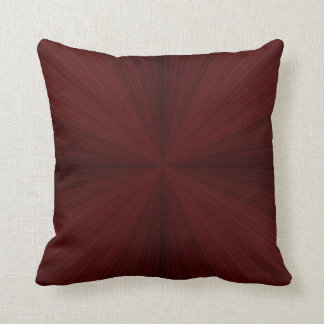 Red Rays Quartered Pillows