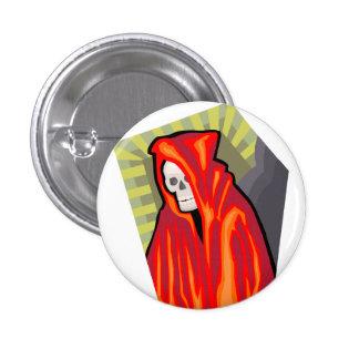 Red Reaper Pinback Button