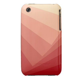 Red Rectangles in Gradient iPhone 3 Case-Mate Case