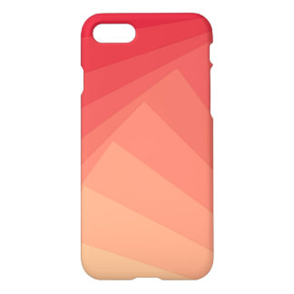 Red Rectangles in Gradient iPhone 7 Case