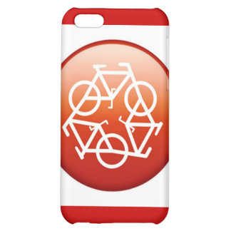 Red recycle symbol case for iPhone 5C