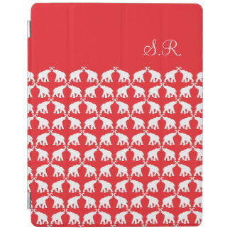 Red red elephant iPad 2,3,4 iPad Cover