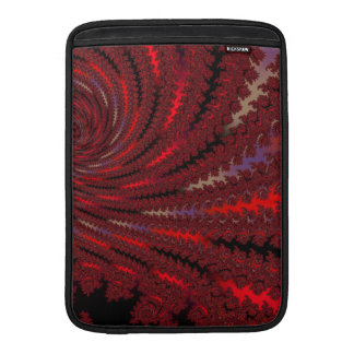 Red Red Fractal Maccessories Sleeves For MacBook Air