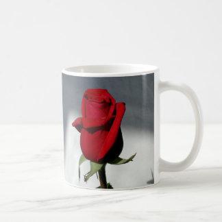 Red red rose mug