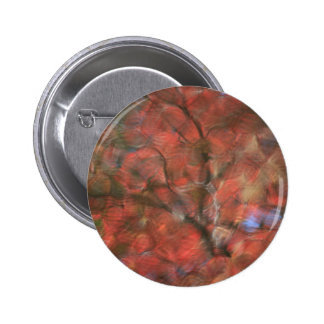 Red Reflections Pinback Button