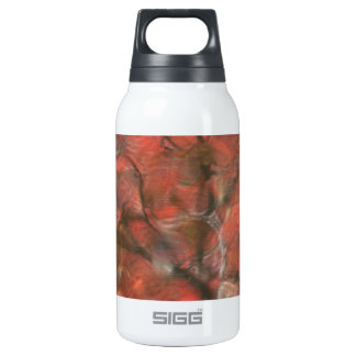 Red Reflections Insulated Water Bottle