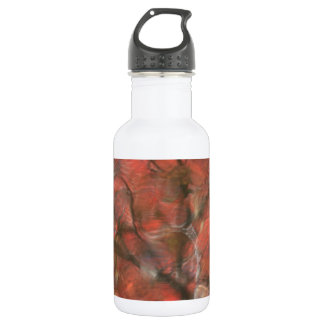 Red Reflections Water Bottle